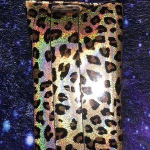 Multicolor cheetah Sunglasses case!